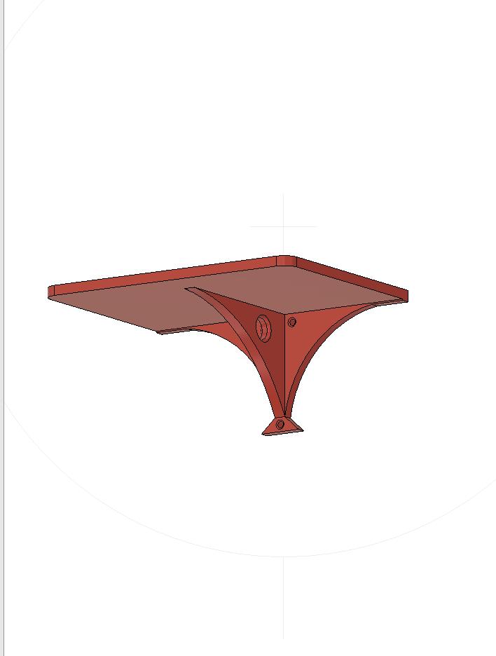 meShelve2a.png Descargar archivo STL Single shelve • Plan de la impresora 3D, miguelonmex