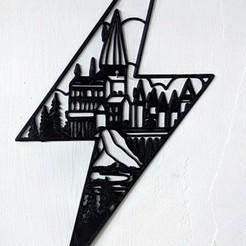 Hogwarts1.jpg Descargar archivo STL Hogwarts through lightning   • Diseño para impresión en 3D, miguelonmex