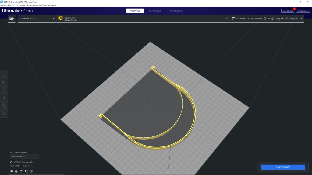 1.png Descargar archivo STL gratis COVID-19 Face Shield impresión rápida • Diseño para la impresora 3D, miguelonmex