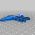 Download free STL file UFO 2D for wall • 3D printing design, miguelonmex