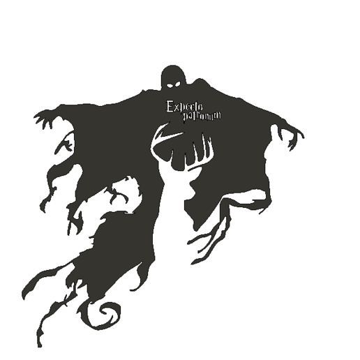 DementorPatronusTTo.png Descargar archivo STL Dementor Patronus • Plan imprimible en 3D, miguelonmex