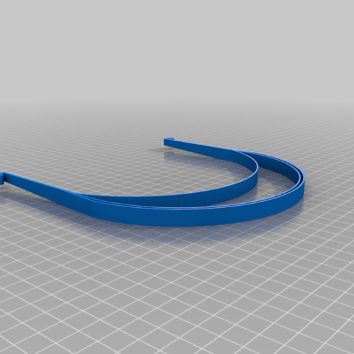FrameMaskH.png Descargar archivo STL gratis COVID-19 Face Shield impresión rápida • Diseño para la impresora 3D, miguelonmex
