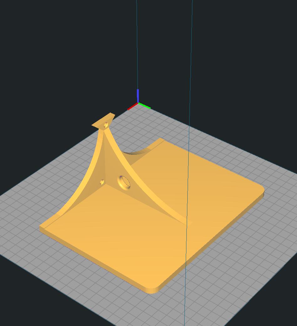 meShelve4.png Descargar archivo STL Single shelve • Plan de la impresora 3D, miguelonmex