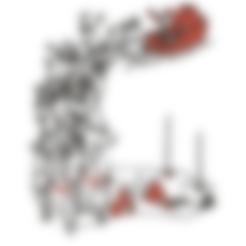 WallSanta1.stl Descargar archivo STL gratis El trineo de Santa montado en la pared • Modelo para la impresión en 3D, miguelonmex