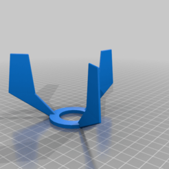 Finnen_v6.png Download free SCAD file Fins for water rocket • 3D printable object, aecampana