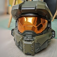 IMG_20200614_190014-01.jpeg Download STL file Halo 5 master chief helmet • 3D printer template, chefunder37