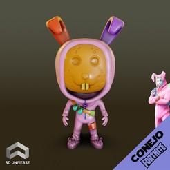 Descargar modelo 3D gratis Funko Conejo Fortnite, 3DUNIVERSE
