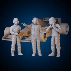 ig 34.png Download STL file Mechanics + F1 part 2 drivers • 3D print design, AriAcosta