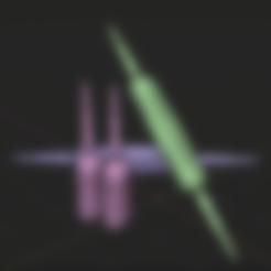 Télécharger objet 3D gratuit Couteau Gamora, 3DUNIVERSE