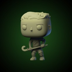 ig 25.jpg Download STL file Funko Hockey Player • 3D printer template, AriAcosta