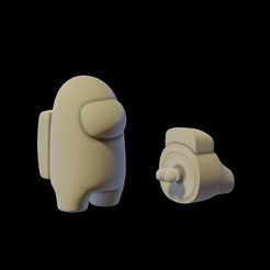 ig 33.jpg Descargar archivo STL Among us • Plan imprimible en 3D, AriAcosta