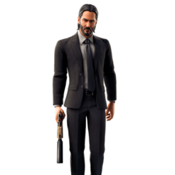 Download 3D printing templates John Wick Fortnite, thecriws