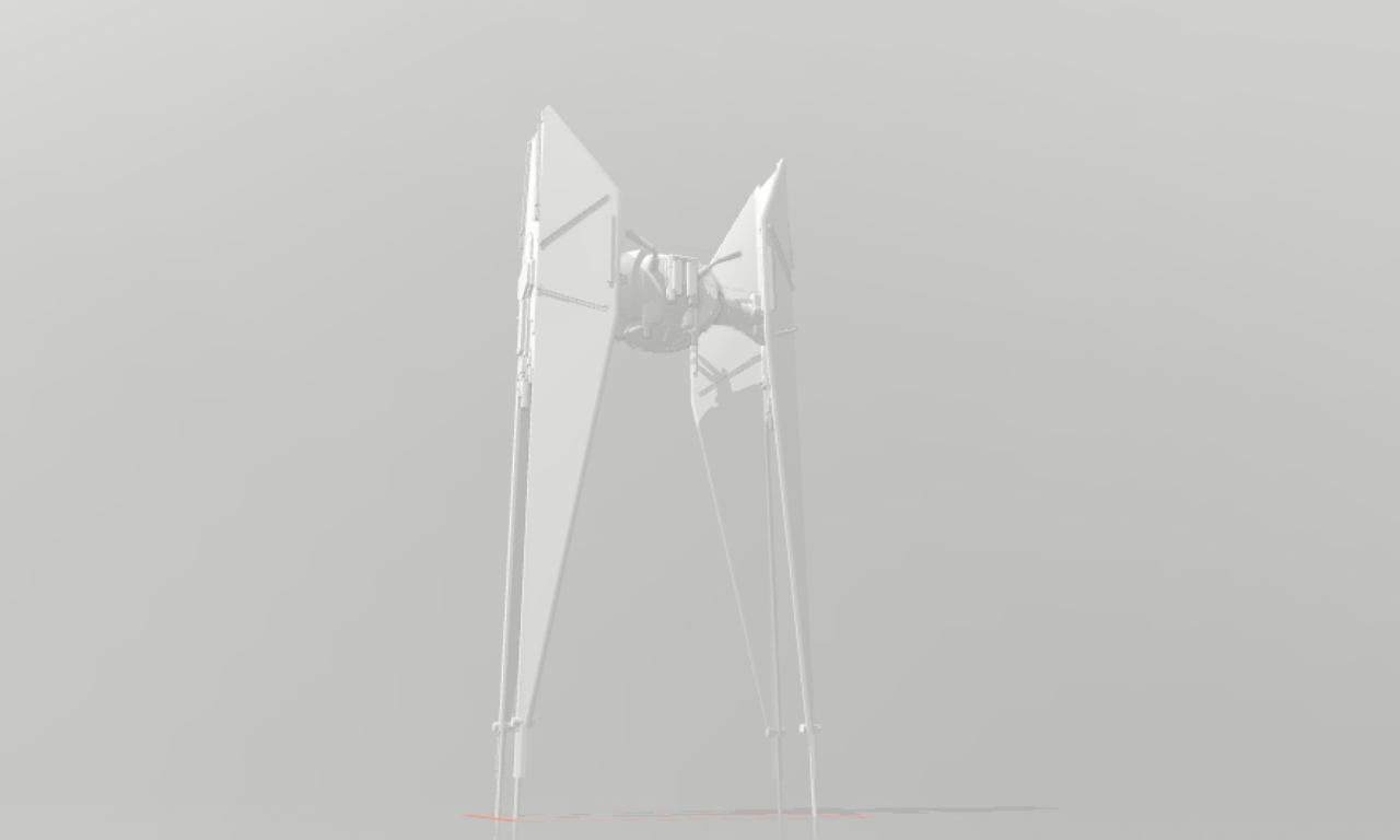 Sin título3.png Download free STL file star war ships pack • Template to 3D print, thecriws