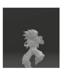 Download STL file goku supersaiyan 3 • 3D printing object, thecriws