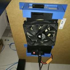 Descargar modelos 3D gratis Capot Alim Creality Ender 3 Pro 120mm ventilador (MeanWell), neoslugman