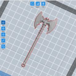 Descargar modelos 3D gratis Hacha Rueful (Skyrim), sp00kypetite