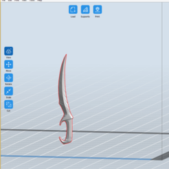AstridBlade_Flashprint.png Download free STL file Astrid's Blade (Blade of Woe) with sheath • Object to 3D print, sp00kypetite