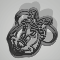 Télécharger fichier 3D Mickey et Minnie Mouse Cookie Cutter de Mickey et Minnie Mouse, juanaysimongillig