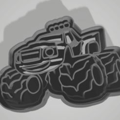 Télécharger plan imprimante 3D Coupe-biscuits Cars Autos, juanaysimongillig