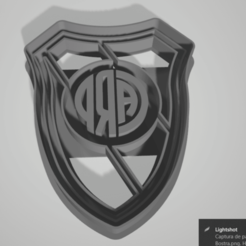 Download 3D printing designs River Plate Cookie Cutter, juanaysimongillig