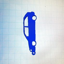 Download 3D printer designs Volkswagen goal key ring, joaman96