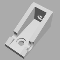Impresiones 3D gratis Ender 5 - Colgador y/o soporte de la caja del controlador, 3displit