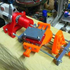 Download free STL files adjustable lathe, cgilabert
