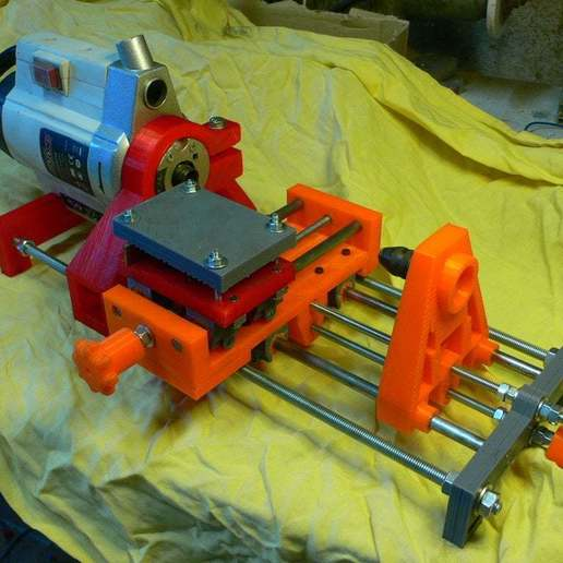 Download free 3D model Micro lathe, cgilabert