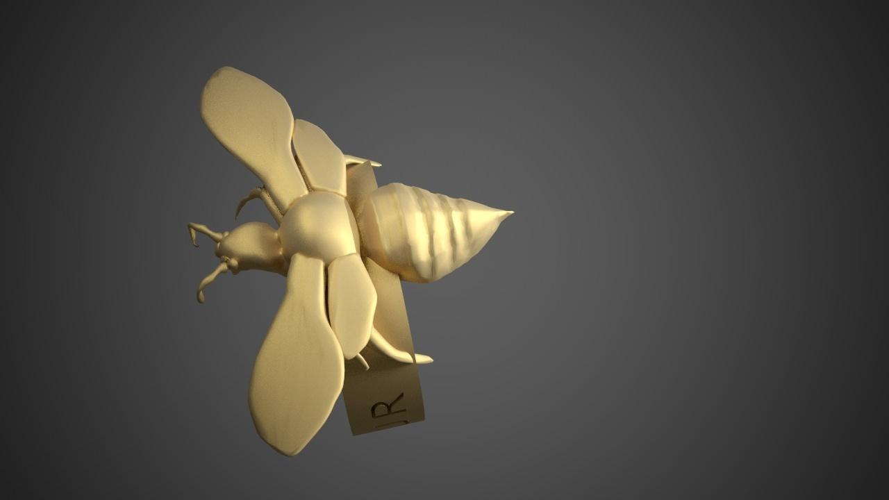 MURDER HORNET BRACELET5.jpg Download free STL file Murder Hornet Bracelet • 3D printable template, swivaller
