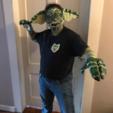 mask 1.png Download STL file Gremlin Half mask • Design to 3D print, swivaller