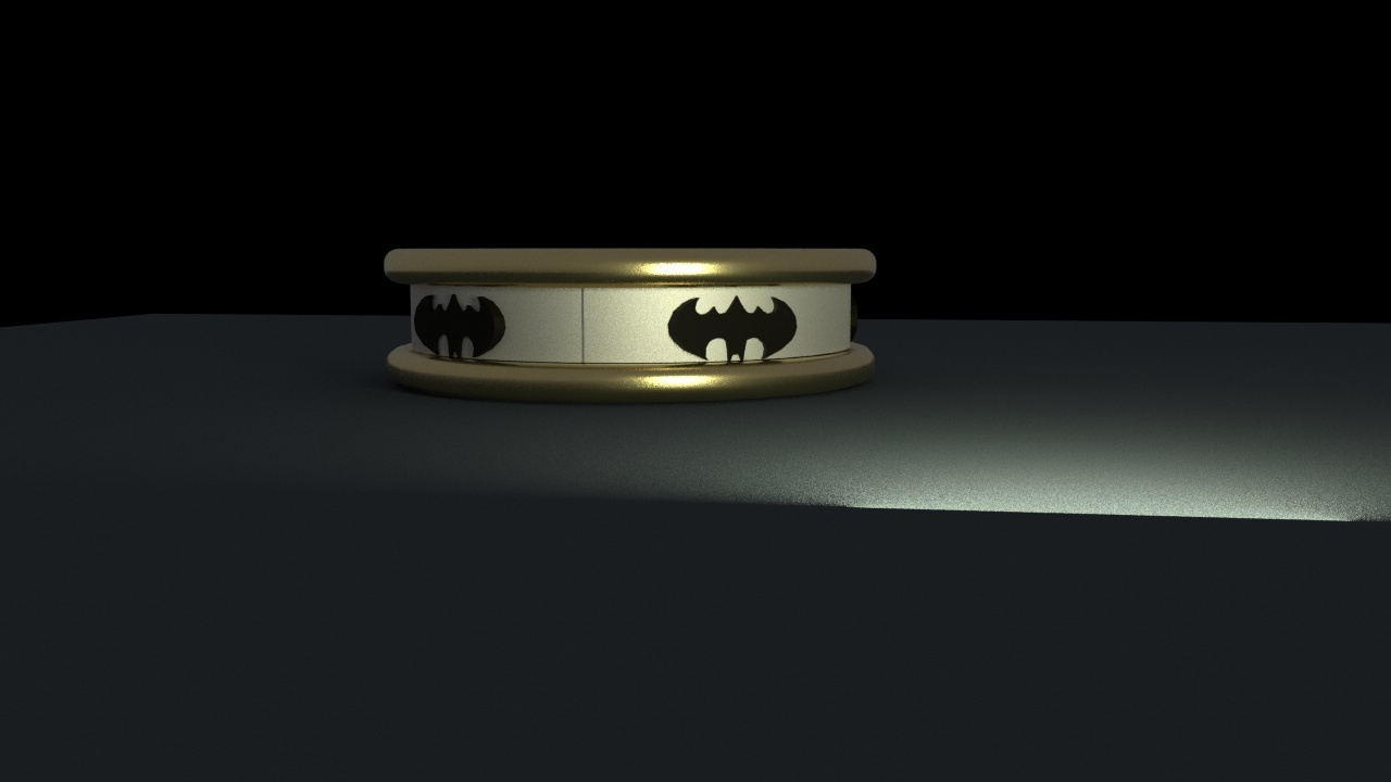 batman ring.jpg Download free STL file Batman riing • Model to 3D print, swivaller