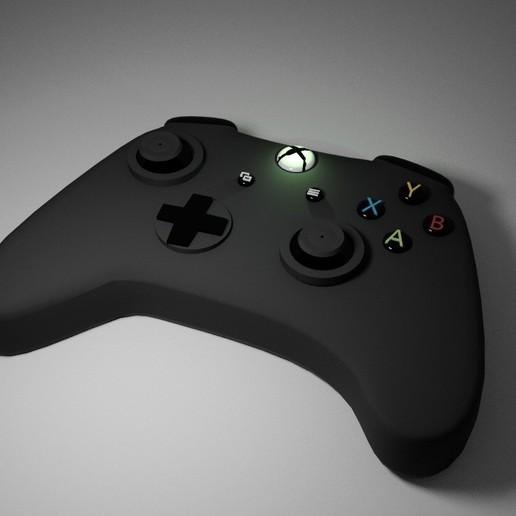 XBOX GAME CONTROLLER.jpg Télécharger fichier STL gratuit CONTRÔLEUR DE JEU XBOX COLLACEPENDANT • Modèle pour impression 3D, swivaller