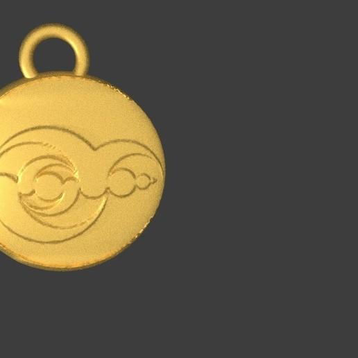crop circle 1.jpg Download free STL file Crop circle medallion • 3D printable model, swivaller