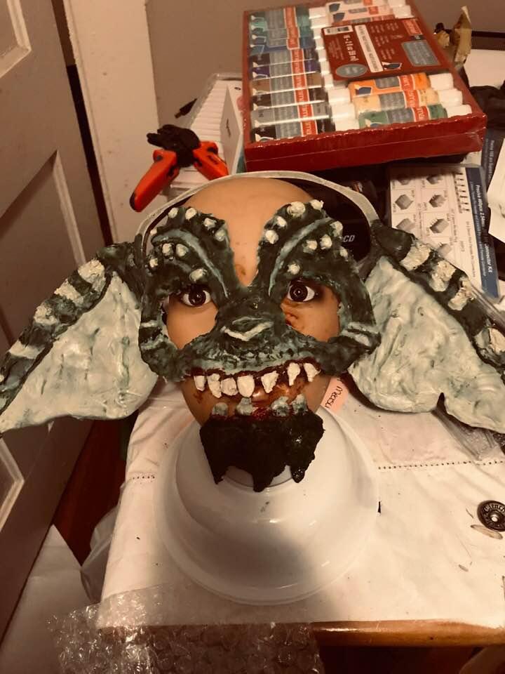 70698004_1088115931380853_6968842642603900928_n.jpg Download STL file Gremlin Half mask • Design to 3D print, swivaller