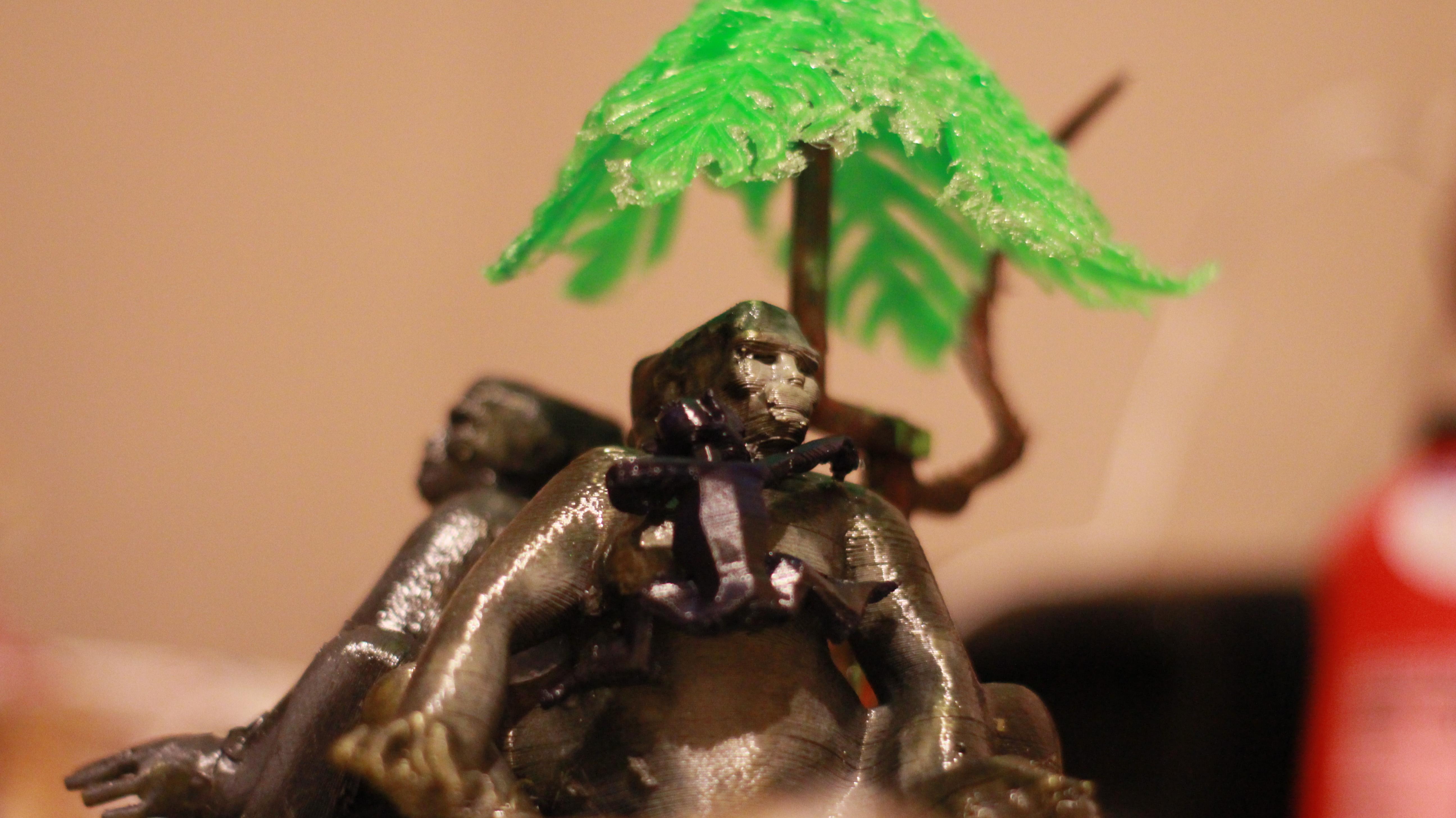 IMG_4068.JPG Download OBJ file Gorilla lamp • 3D printing template, swivaller