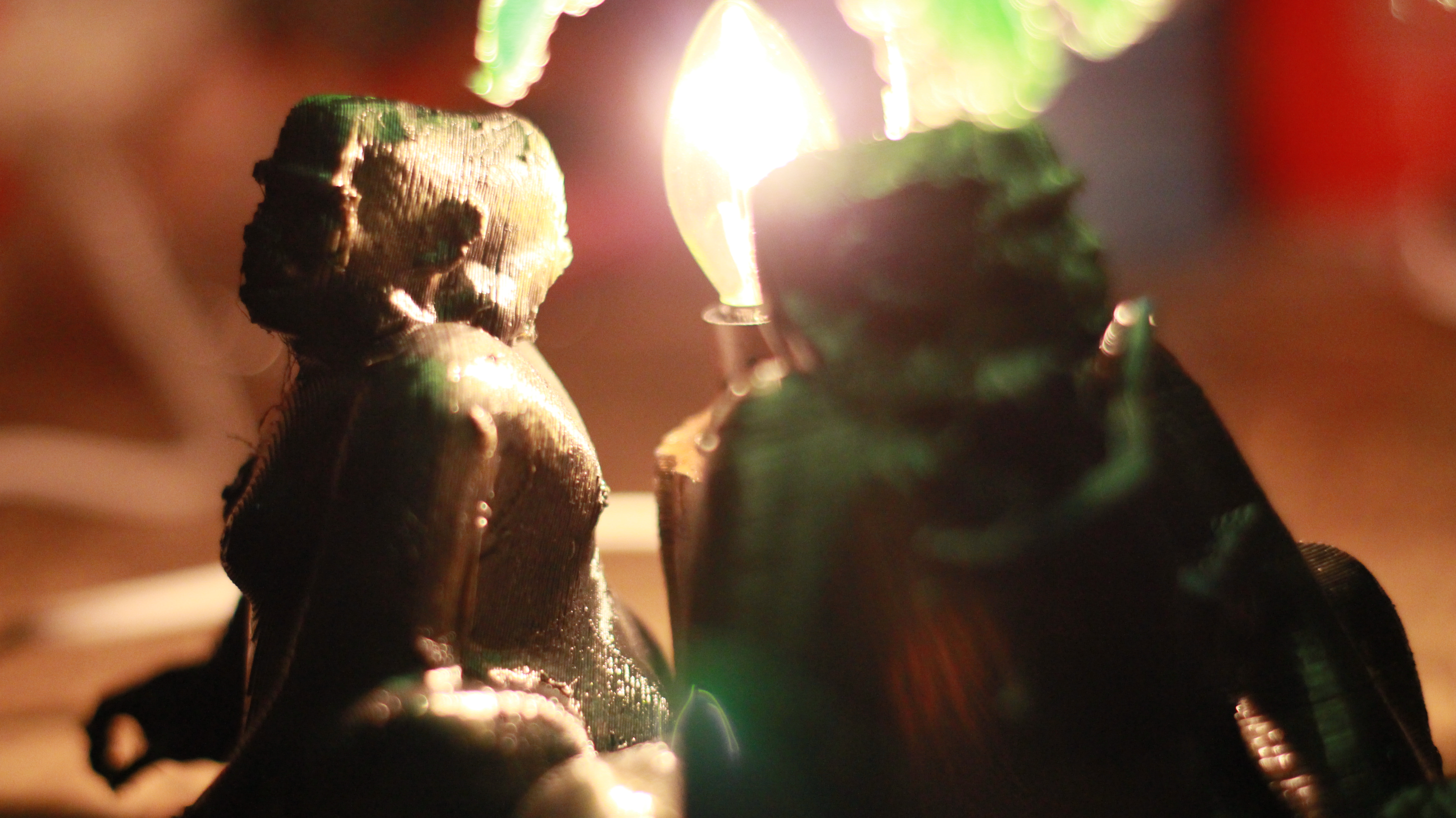 IMG_4056.JPG Download OBJ file Gorilla lamp • 3D printing template, swivaller