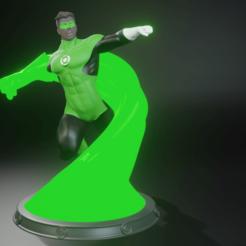 Télécharger fichier impression 3D Lanterne verte, juancvelez89