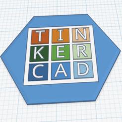 Télécharger fichier STL gratuit Badge Tinkercad, waynelosey
