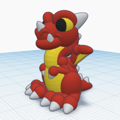 Download free 3D printing templates Dragonling from Tinkercad, waynelosey
