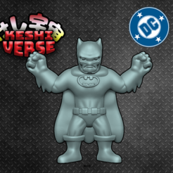 Batman2.png Download free STL file Keshiverse - Batman • 3D printable template, whackolantern