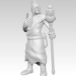 disciple_2_1.png Download free STL file Miniature - Disciple 2 (2017) • 3D printer model, whackolantern