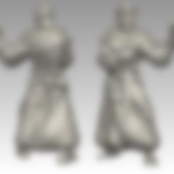 Friar.stl Download free STL file Miniature - Battle Friar • 3D printing design, whackolantern