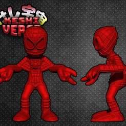 6fbc6b7bfd2b2b685fb4c172979f574b_display_large.jpg Télécharger fichier STL gratuit Keshiverse - Spider-man (Bande dessinée) • Plan pour impression 3D, whackolantern