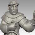 friar2.png Download free STL file Miniature - Battle Friar • 3D printing design, whackolantern