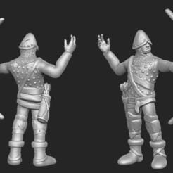 Descargar modelo 3D gratis Miniatura - Arquero humano 1 (2017), whackolantern