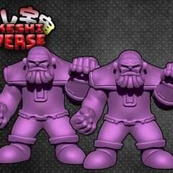 Download free 3D model Keshiverse - Thanos (MCU - Infinity War), whackolantern