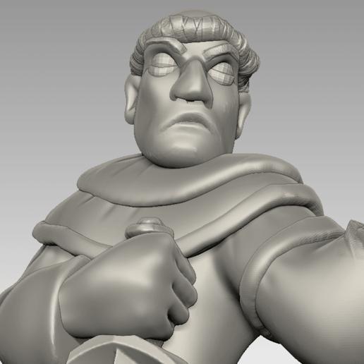 friar3.png Download free STL file Miniature - Battle Friar • 3D printing design, whackolantern