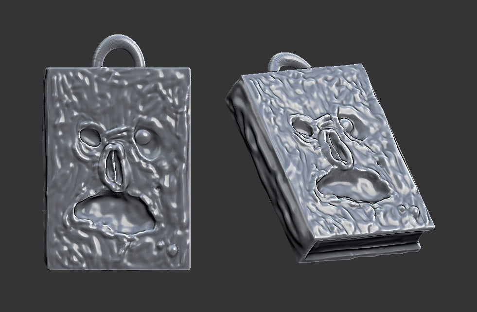 9b7c72934651cc02aa319fa22ac10366_display_large.jpg Télécharger fichier STL gratuit Bijoux - Collier Necronomicon (2016) • Objet pour impression 3D, whackolantern
