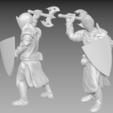 knight_1.png Download free STL file Miniature - Knight 1 (2017) • 3D print model, whackolantern