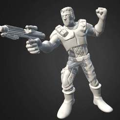Download free STL file Miniature - Imperial Assault - Dash Rendar (2017) • Object to 3D print, whackolantern